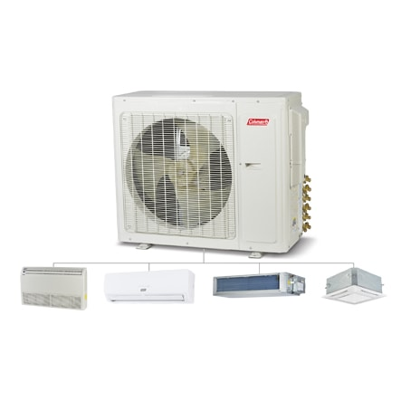 Coleman Ductless Multi-Zone (W Series).