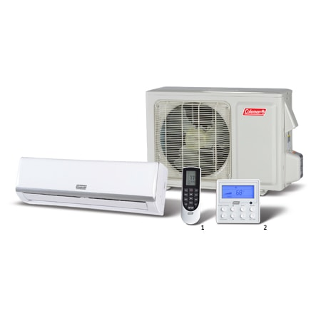 Coleman Ductless Single Zone (X Series).